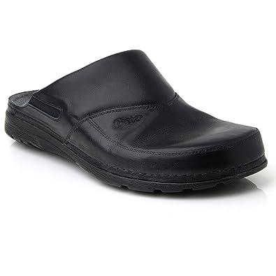 9261bf7fe80 BATZ Peter Leather Mens Slip-on Clogs Mules