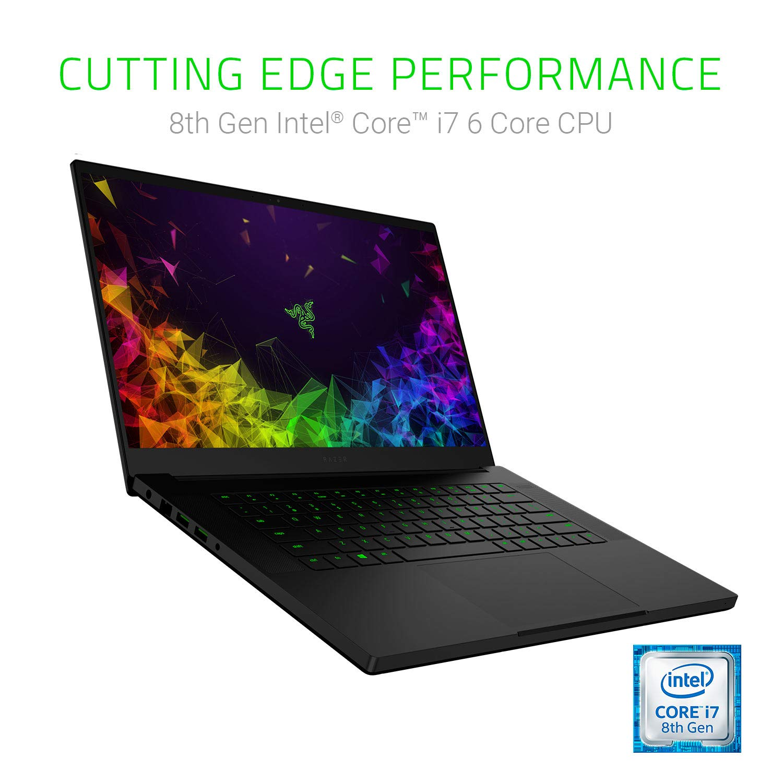 16GB RAM Windows 10 NVIDIA GeForce GTX 1060 Max-Q 128GB SSD Razer Blade 15: Worlds Smallest 15.6 Gaming Laptop 60Hz Full HD Thin Bezel 8th Gen Intel Core i7-8750H 6 Core 1TB HDD