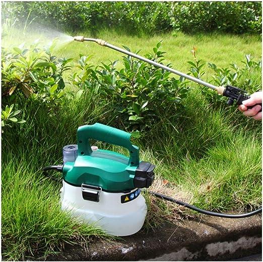 TangMengYun Riego batería de Litio Flor pulverizador eléctrico Multifuncional Jardín Regadera de Alta presión de Mano de la máquina de la Niebla: Amazon.es: Hogar