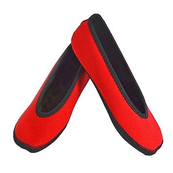 Amazon.com: NuFoot Zapatillas de Ballet Flats para Mujer ...