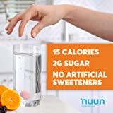 Nuun Immunity: Antioxidant Immune Support Hydration Supplement with Vitamin C, Zinc, Turmeric, Elderberry, Ginger, Echinacea, and Electrolytes. Blueberry Tangerine+Orange Citrus, 4 tubes