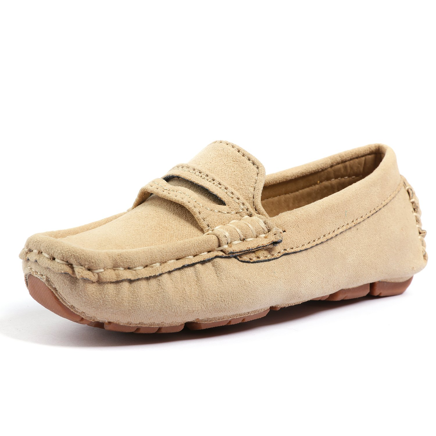 UBELLA Girl's Boy's Slip-On Loafers Casual Flat Shoes(Toddler/Little Kid/Big Kid)