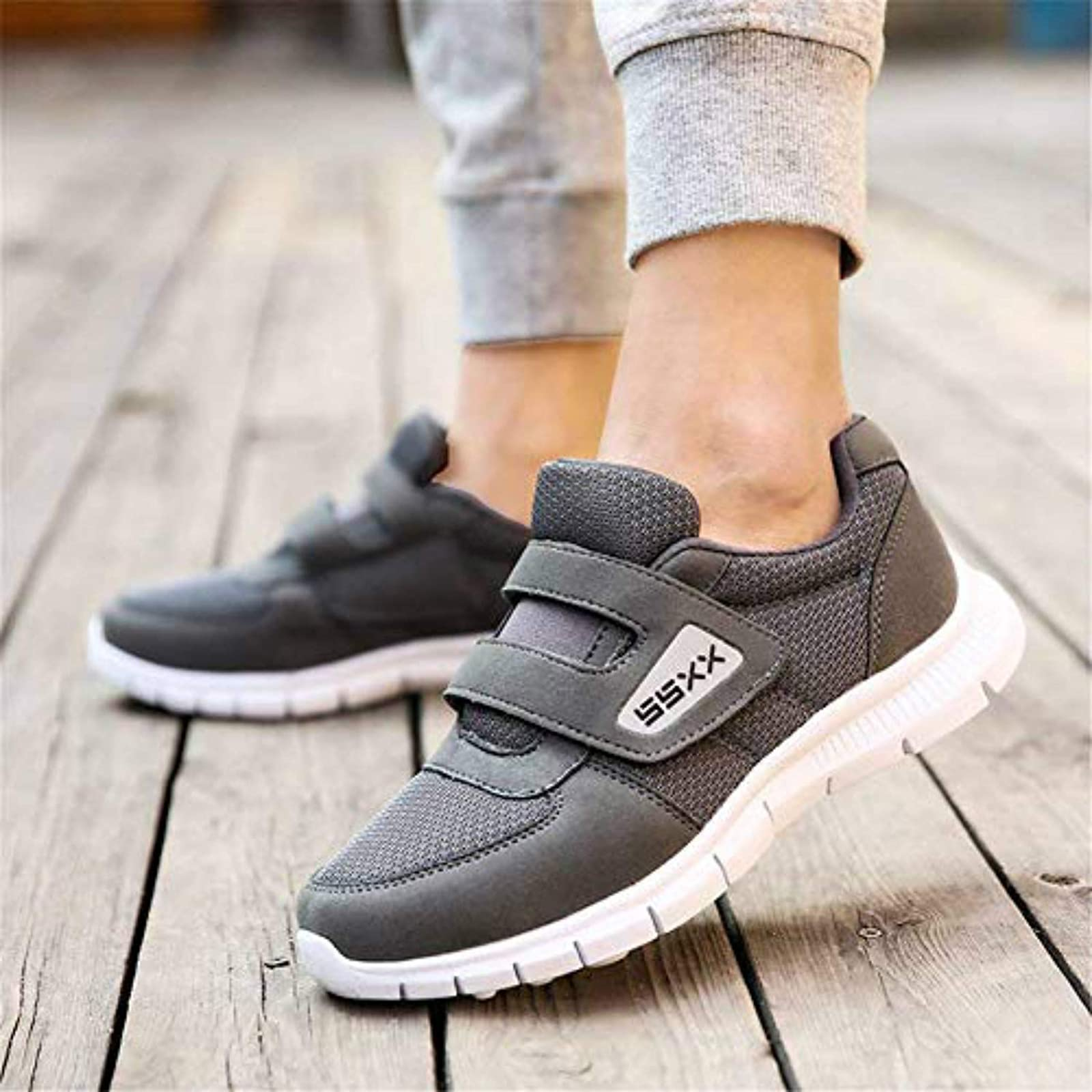Fires Men's Casual Sneakers Lightweight Athletic - 6