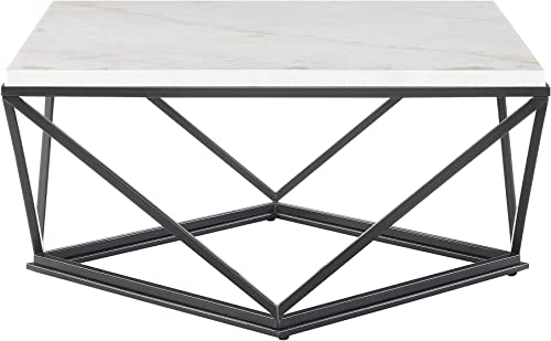 Abbey Avenue Reynolds Square Coffee Table, Black