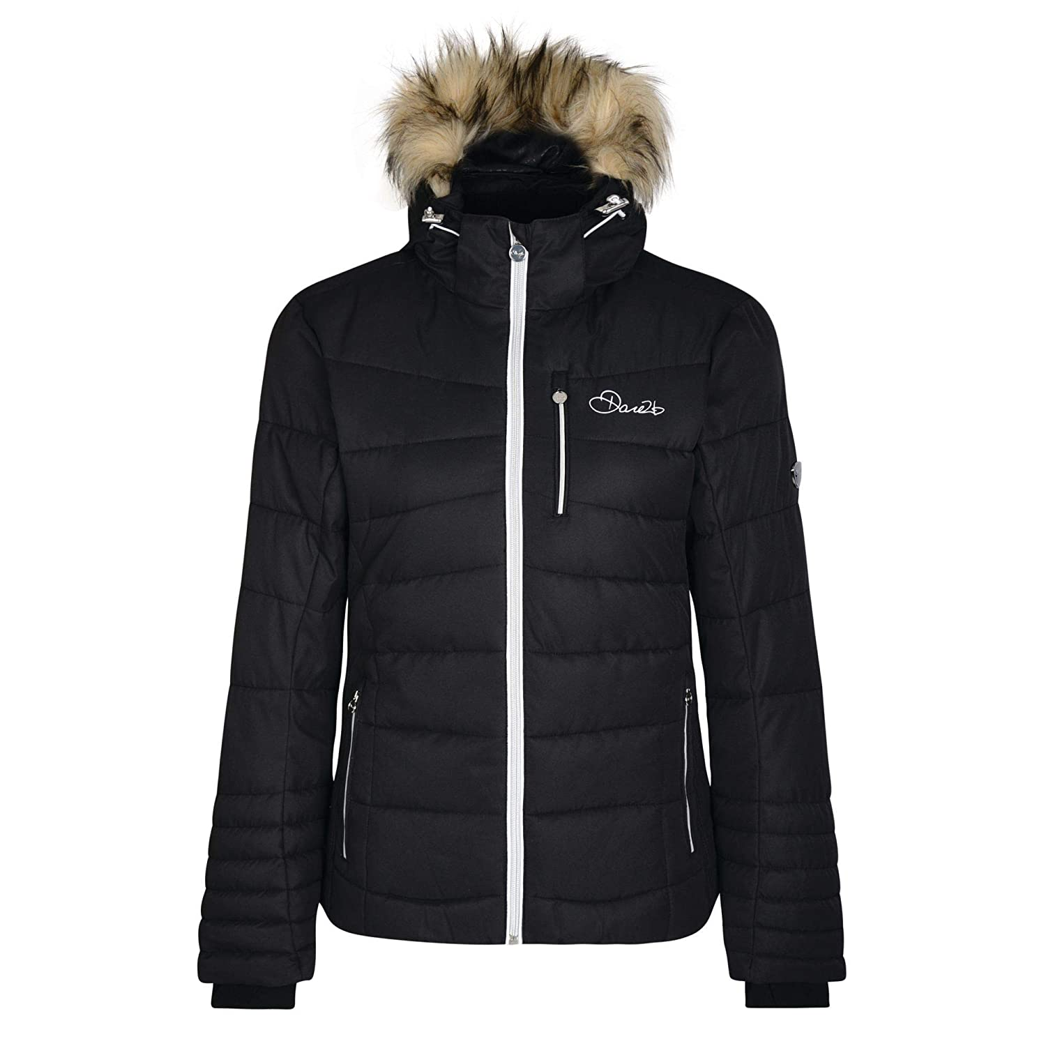 0ec703b17d Dare 2b Women s Curator and Breathable Ski Waterproof Insulated Jacket   Amazon.co.uk  Sports   Outdoors