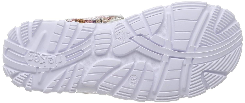 E 1//2 Zwei-//Mehrfarbig Rieker Damen-Sandalette