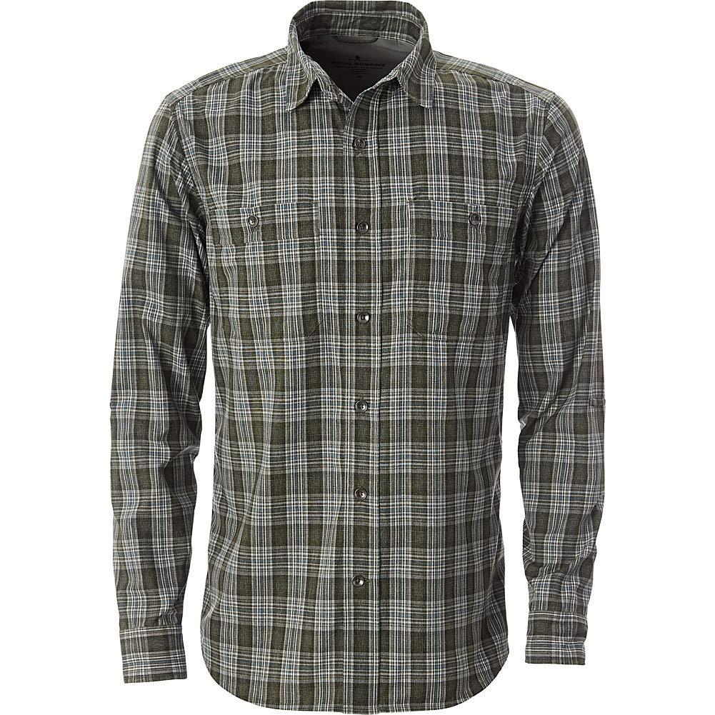 Royal Robbins Mens Vista Dry Plaid Long Sleeve Shirt