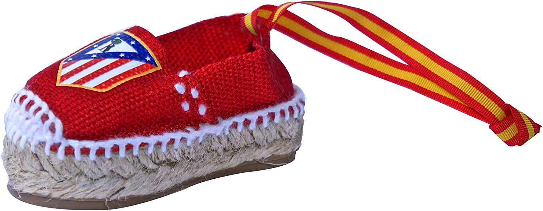 Espadrilles Gold - Colgante Alpargata Atlético de Madrid Clásica Bandera España Rojo: Amazon.es: Zapatos y complementos