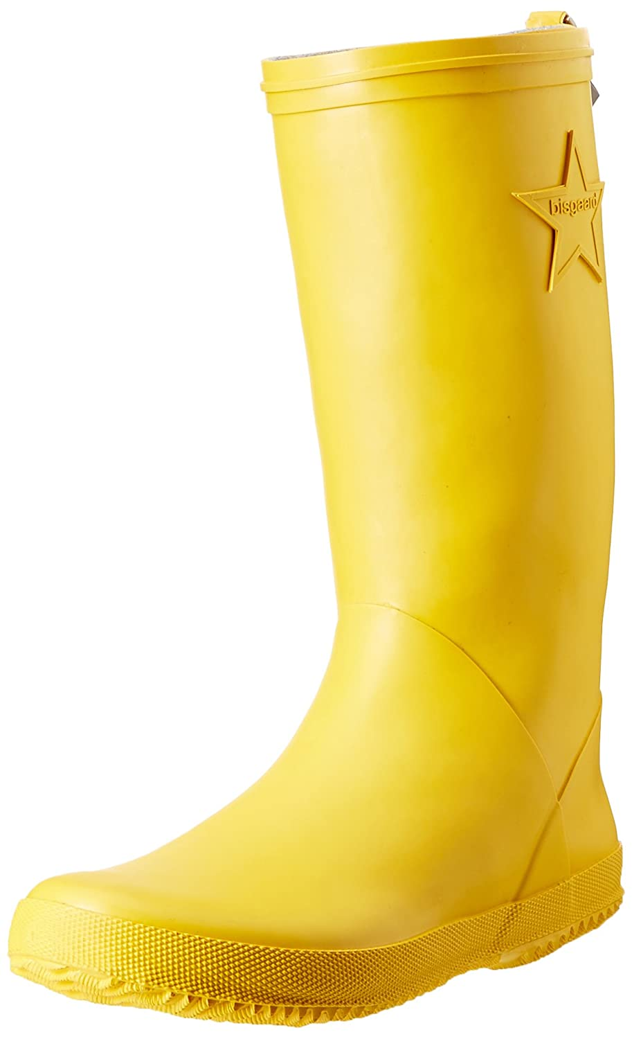 Bisgaard Unisex-Kinder Rubber Boot Star Gummistiefel, Gelb (80 Yellow), 26 EU