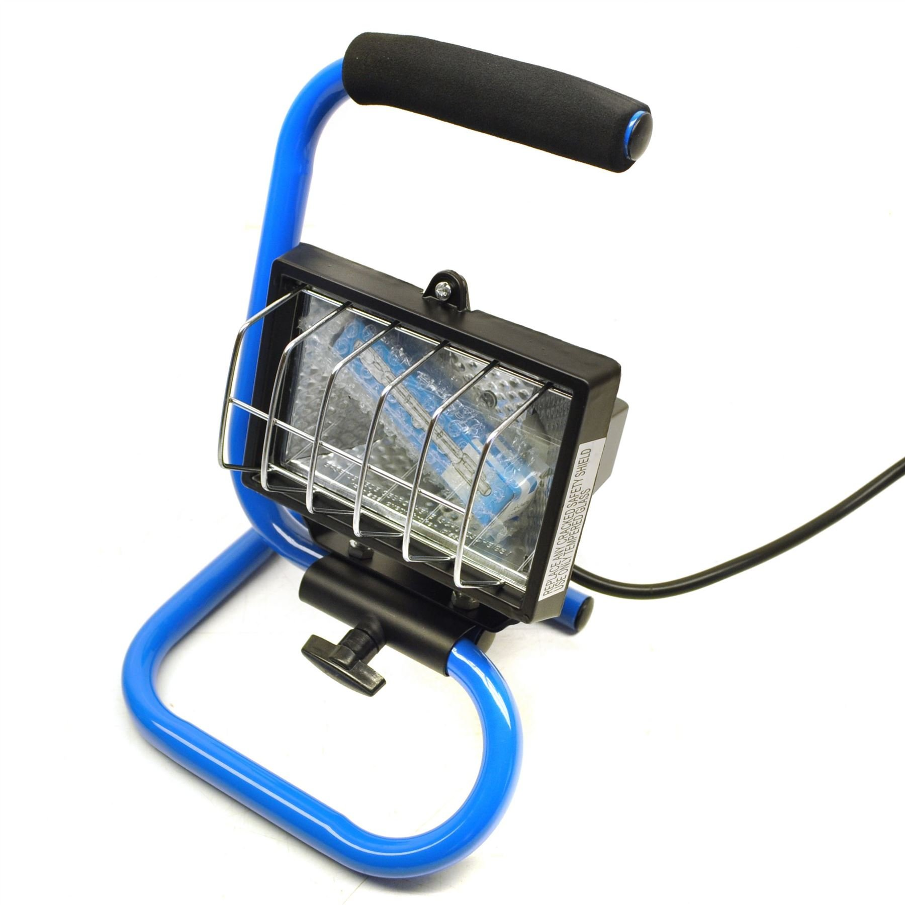 Halogen Work Lamp / Flood Light 150w Portable Garage / Site with Stand SIL216