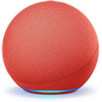 All-new Echo (4th Gen) | With premium sound, smart home hub, and Alexa | (PRODUCT) RED