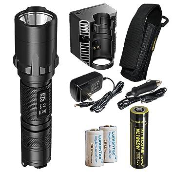 Nitecore R25 800 lúmenes batería LED Policía linterna ...