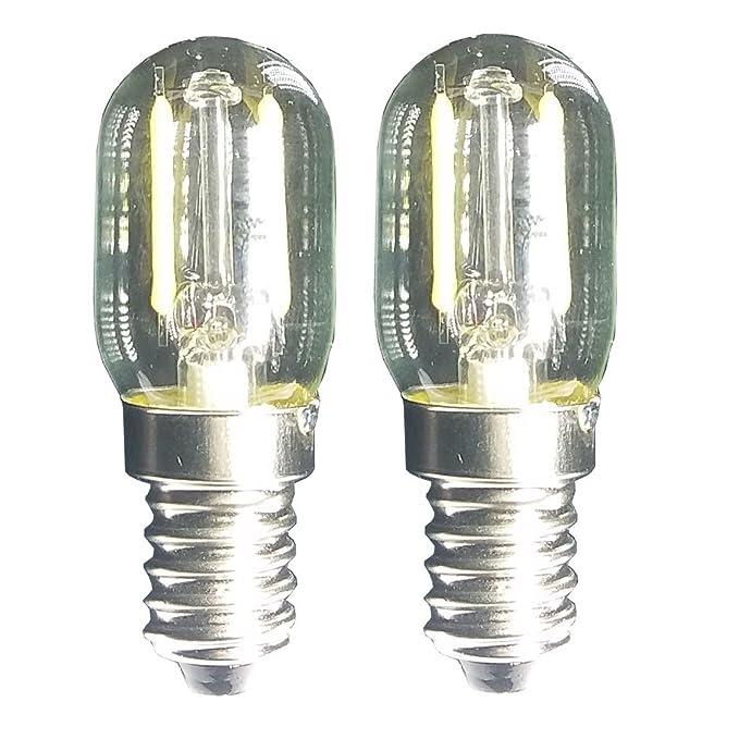 Luz De Filamento LED 1.5w T22 E14 Base Bombilla De Microondas 240v ...