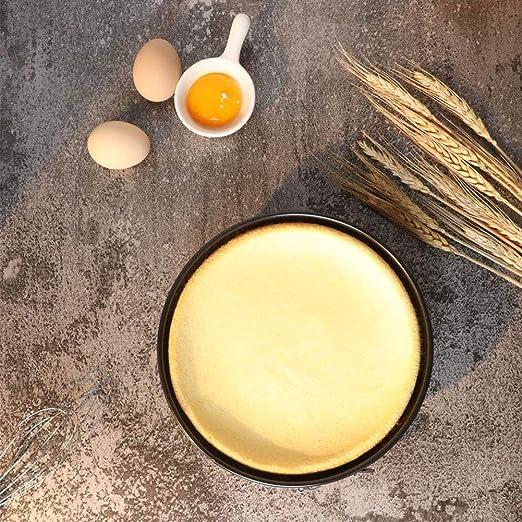 GOODGDN 3pcs Molde de Horno Redondo para Tartas Pastel - Tortera en Acero Antiadherente Diámetro 18 cm,20cm,22cm - Fuente Redonda con Base Desmontable Extraible,Negro.: Amazon.es: Hogar