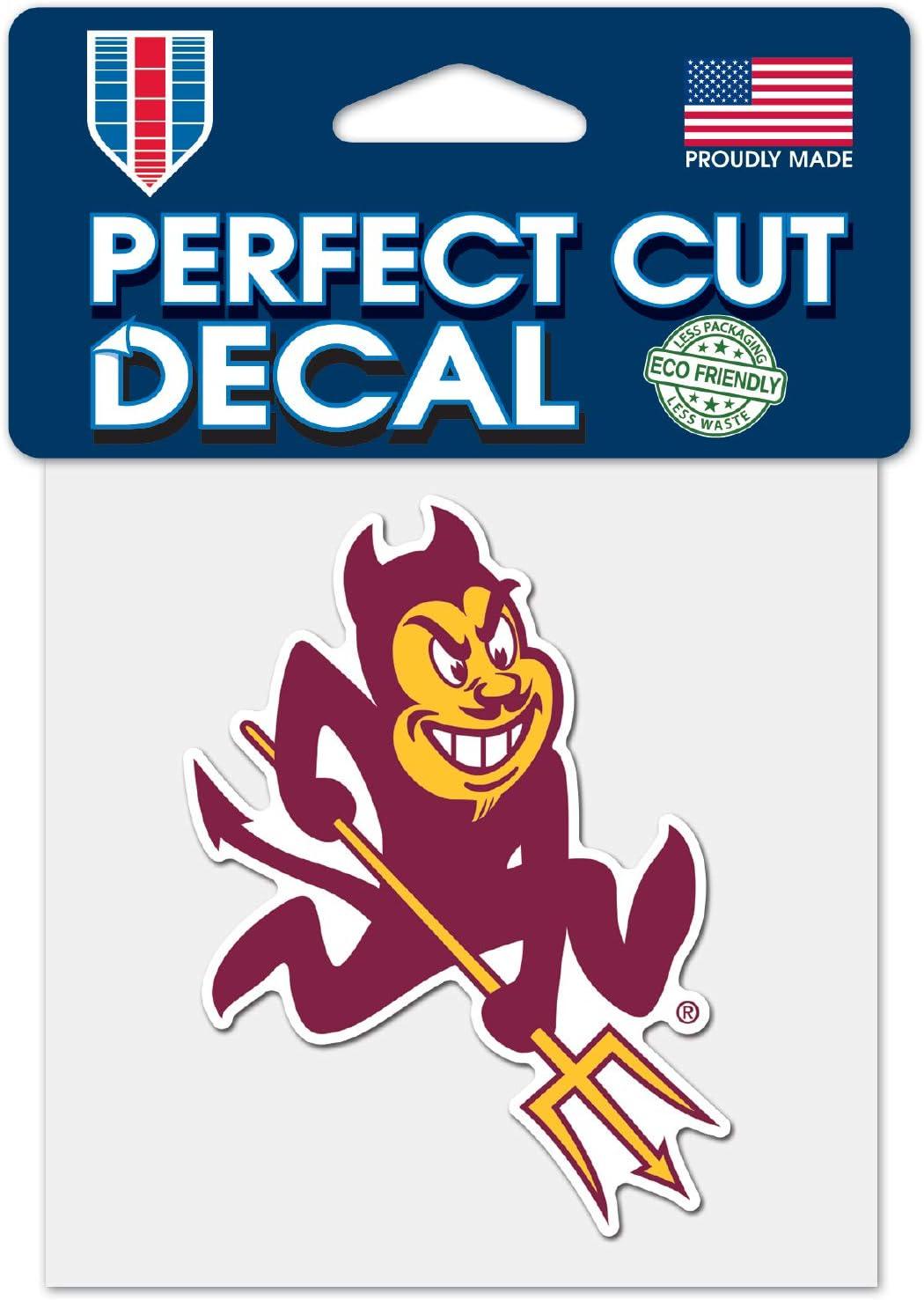 WinCraft Arizona State Sun Devils Devil C4 4x4 Perfect Cut Die Cut Decal