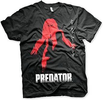 The Predator Officially Licensed Poster Mens T-Shirt (Black)
