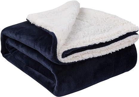 Blue Green Bedroom Blanket Housewarming Gift Evergreen Pine Needle Sherpa Fleece Throw Blanket Super Soft Sherpa Sofa Throw Blanket