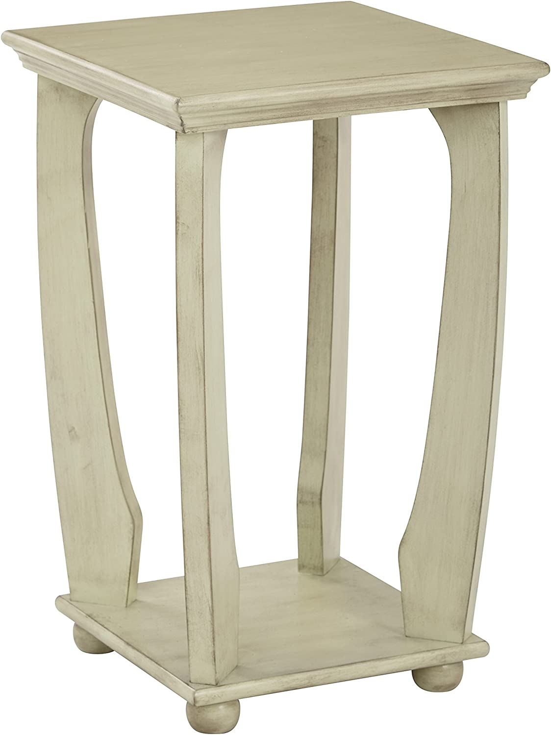 - Amazon.com: Office Star Mila Hand Painted Square Accent Table