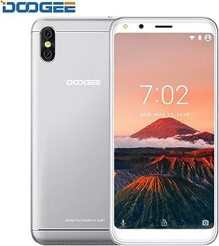 Telefono Movil Libres Baratos, DOOGEE X53 Android 7.0 3G Móviles y Smartphones Libres, Pantalla HD de 5.3 Pulgadas (Relación de Aspecto 18: 9) , MTK6580M Quad-core, 1GB RAM+16GB ROM, 5MP+5MP Cámara dual: