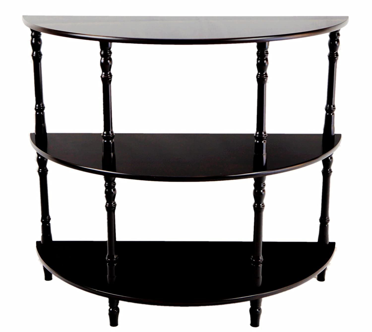 Frenchi Furniture Half Moon Console Table