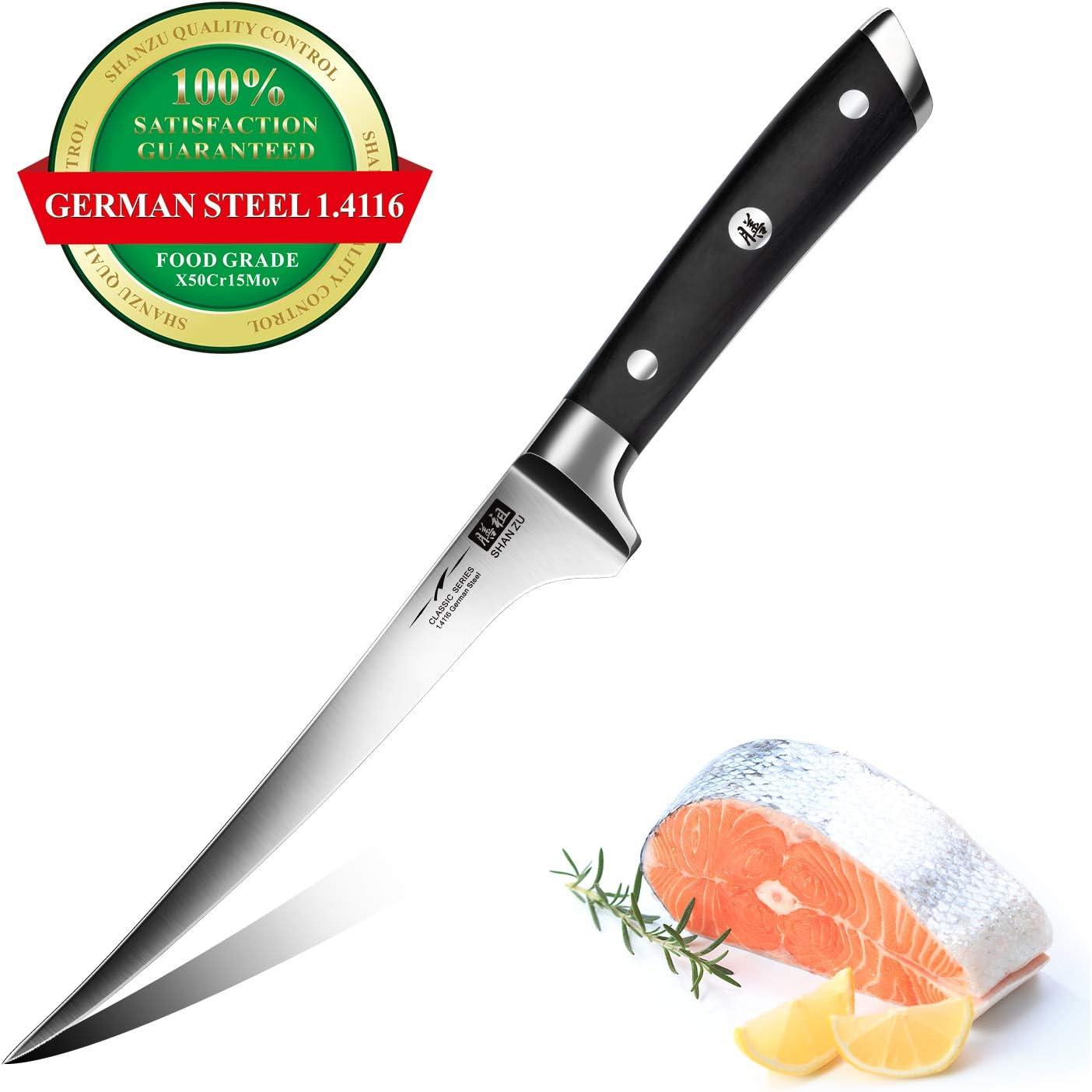 manico unico in acciaio damasco con guaina coltello da chef Santoku Hajegato 67 strati Damasco professionale coltello da cucina giapponese Vg10 17,8 cm