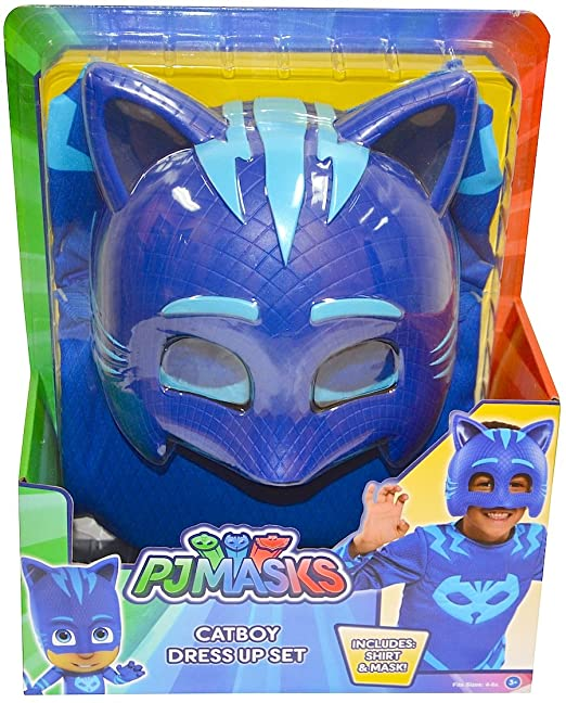PJMASKS PJ Masks Catboy Deluxe Dress Up Top & Mask (Blue)