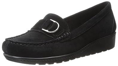 Aerosoles Women's Parisian Slip-On Loafer,Black Suede,5 ...
