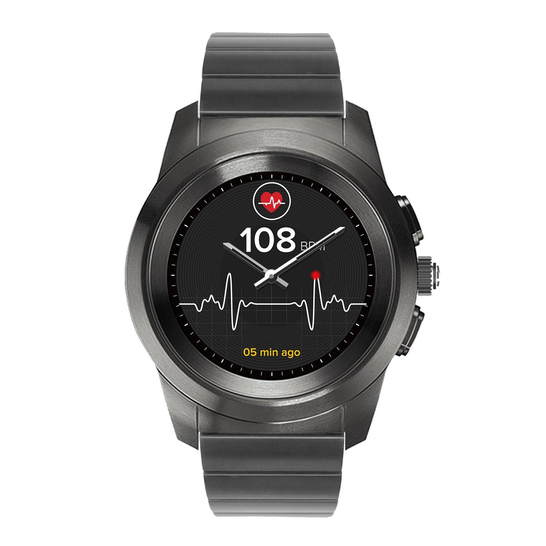MyKronoz ZeTime Elite Reloj Inteligente híbrido 39mm con Agujas mecánicas sobre una Pantalla a Color táctil: Amazon.es: Electrónica