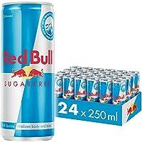 Red Bull Sugar Free, 250ml (Pack of 24)