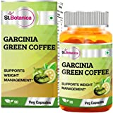 StBotanica Garcinia Green Coffee Bean Extract (Garcinia Cambogia + Green Coffee) - 90 Veg Caps