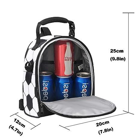Amazon.com: Bolsa para el almuerzo, bolsa de almuerzo para ...