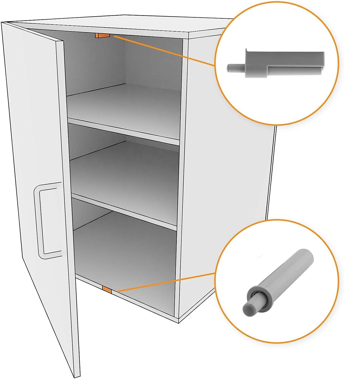 LouMaxx Softclose Tür dämpfer 12er Set – Möbel Dämpfer und