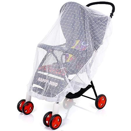 Bebé Mosquitera para carritos, Carriers, asientos de coche, cuna. Se adapta a la mayoría packnplays, cuna, bassinets & playpens, Portátil y duradero ...