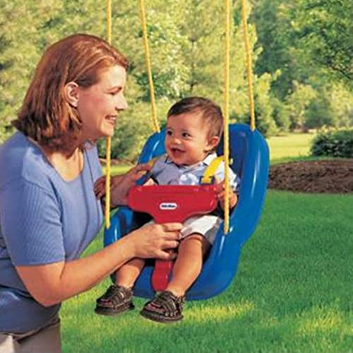 2 in 1 Snug n Secure Swing Blue New