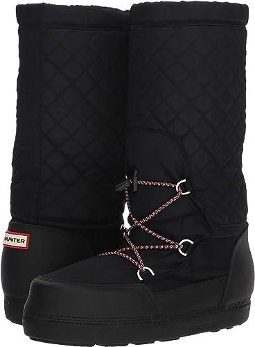 f7f4f149f9f3 Hunter Women s Original Quilted Snow Boots Black 5 ...