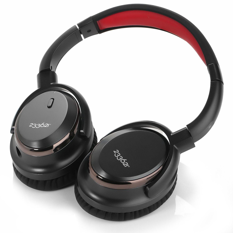Wired Auriculares con cancelación de ruido auriculares, 233621 H501 Closed Back - Auriculares de diadema estéreo con micrófono y funda de transporte, 50 ...