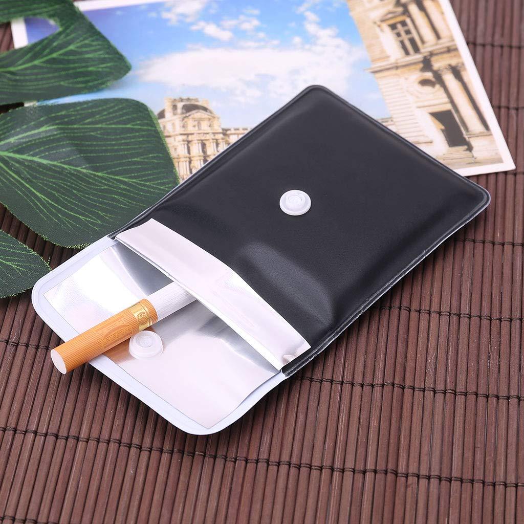 1pcs Tinaa Poche Cendrier PVC Pocket Cendrier Portable Ignifuge Cendrier en Plein Air
