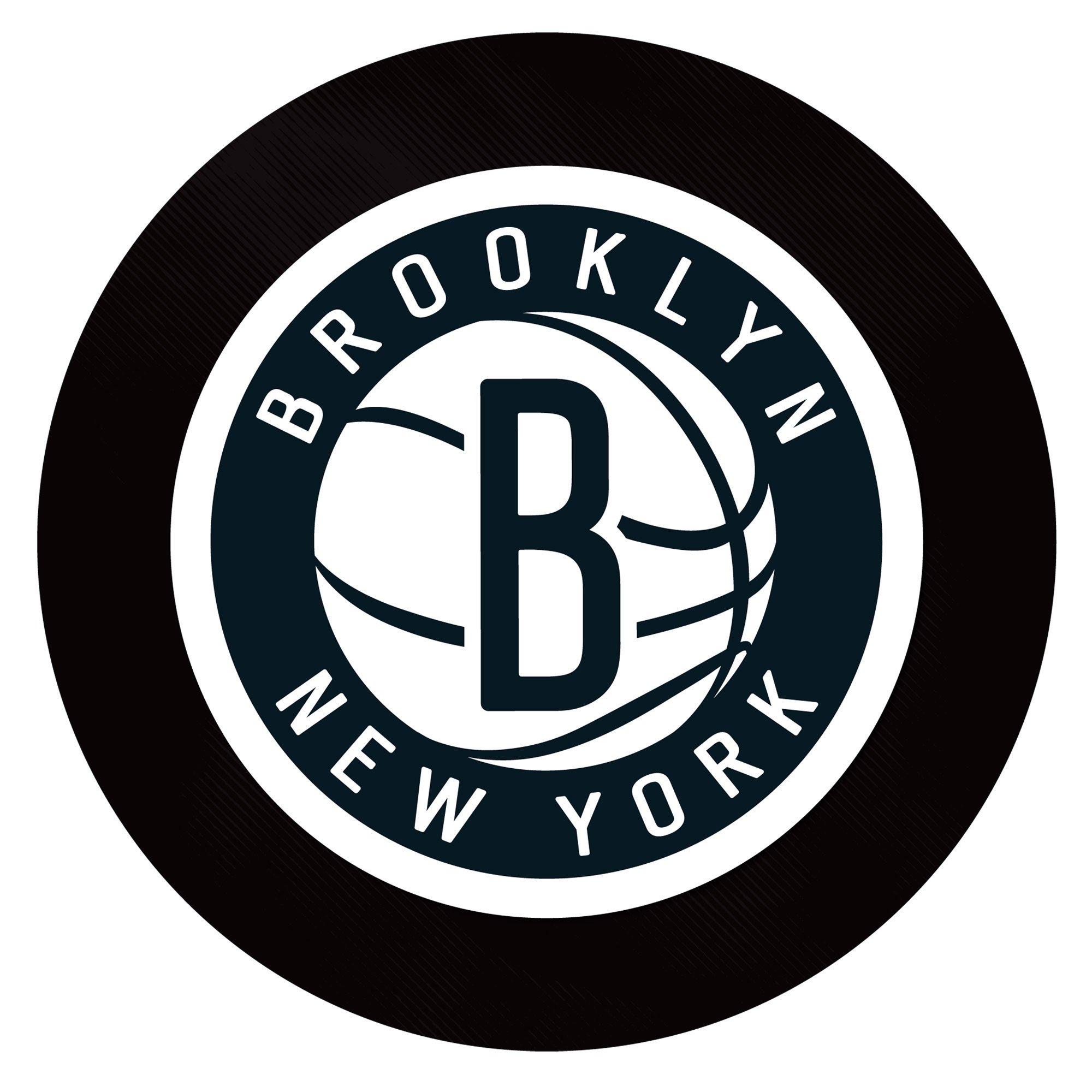 Trademark Gameroom NBA Brooklyn Nets Billiard Cue Rack with Mirror