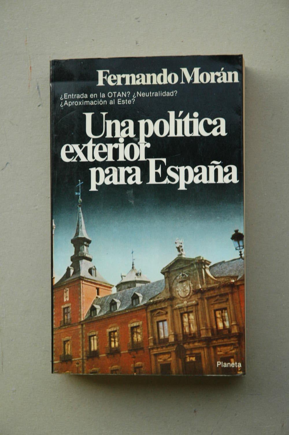 Politica exterior para España, una Colección Documento: Amazon.es ...