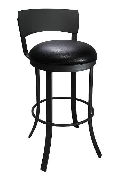 Amazoncom Callee Inc Bailey Swivel Barstool 26 Inch Seat Height