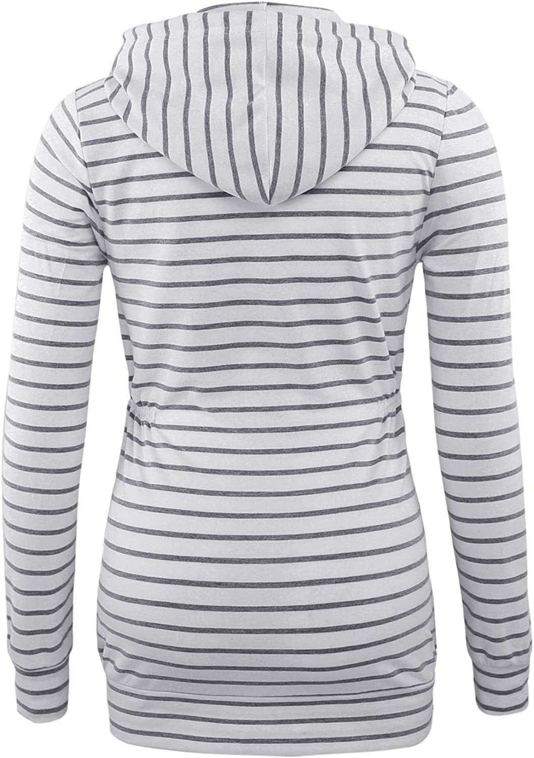 BBHoping Maternity Tops Hoodie Long Sleeve Open Front Clothes