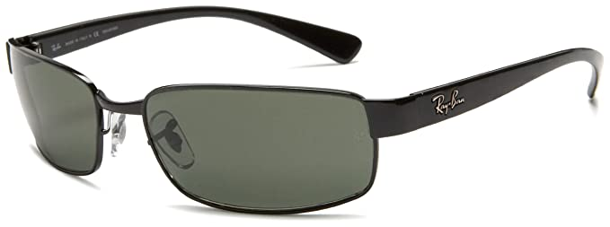 8d5f1bf370 Ray-Ban Sunglasses (RB 3364 002 58 62)  Amazon.co.uk  Clothing