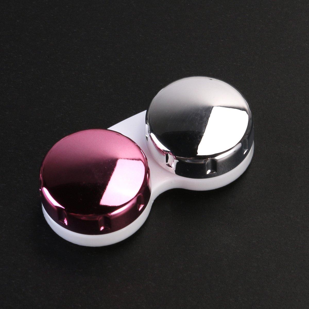 Amazon.com: ROSENICE Contact Lens Case Mini Travel Portable ...