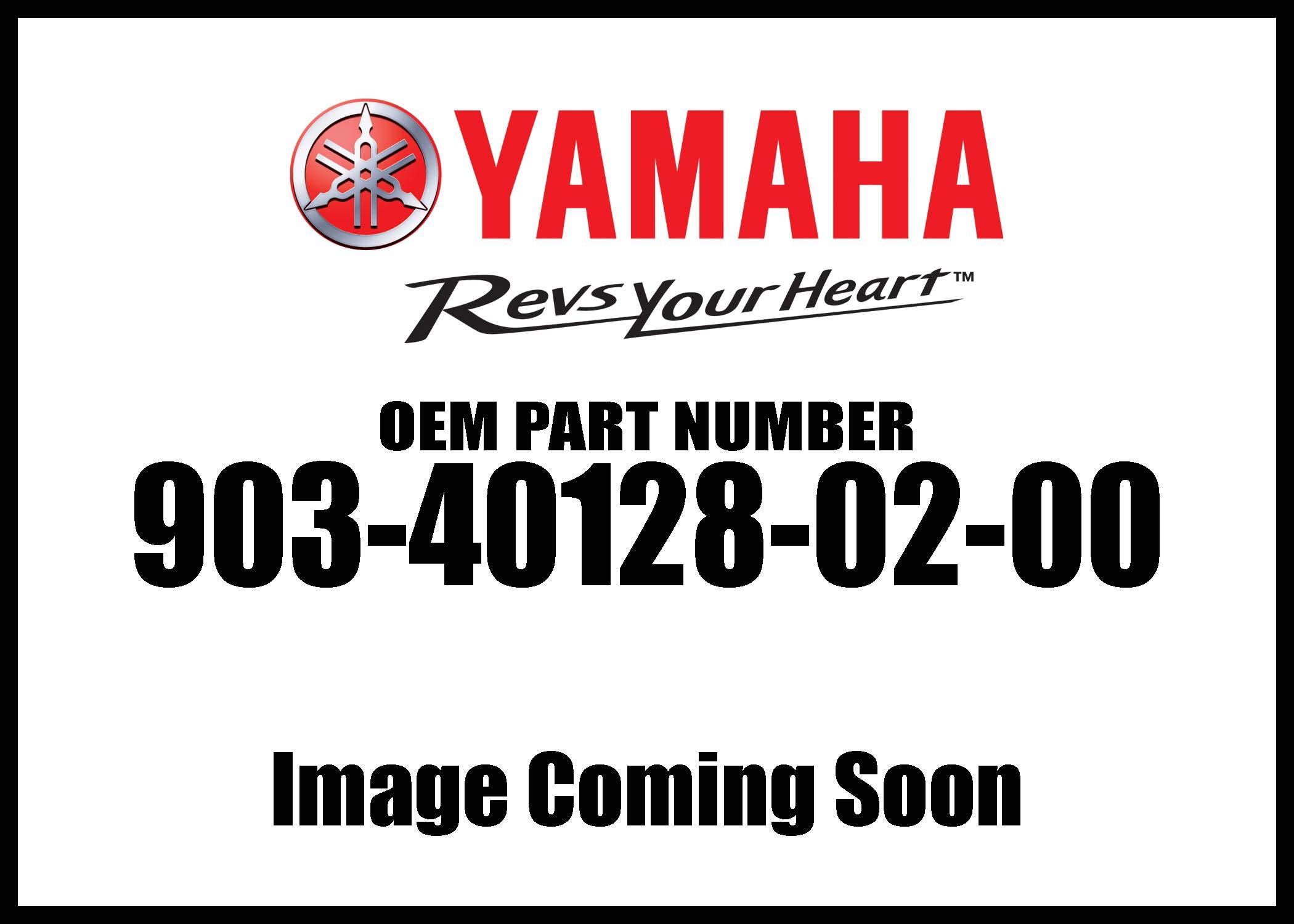Yamaha 90340-12802-00 Plug, Straight Scr; 903401280200 Made by Yamaha