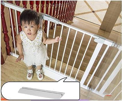 Puerta de seguridad del bebé Cerca de la escalera del carril Guardia mascotas extensible Puerta de la seguridad del bebé extra ancho de cierre automático caminata con Chimenea Barandilla de cocina for: