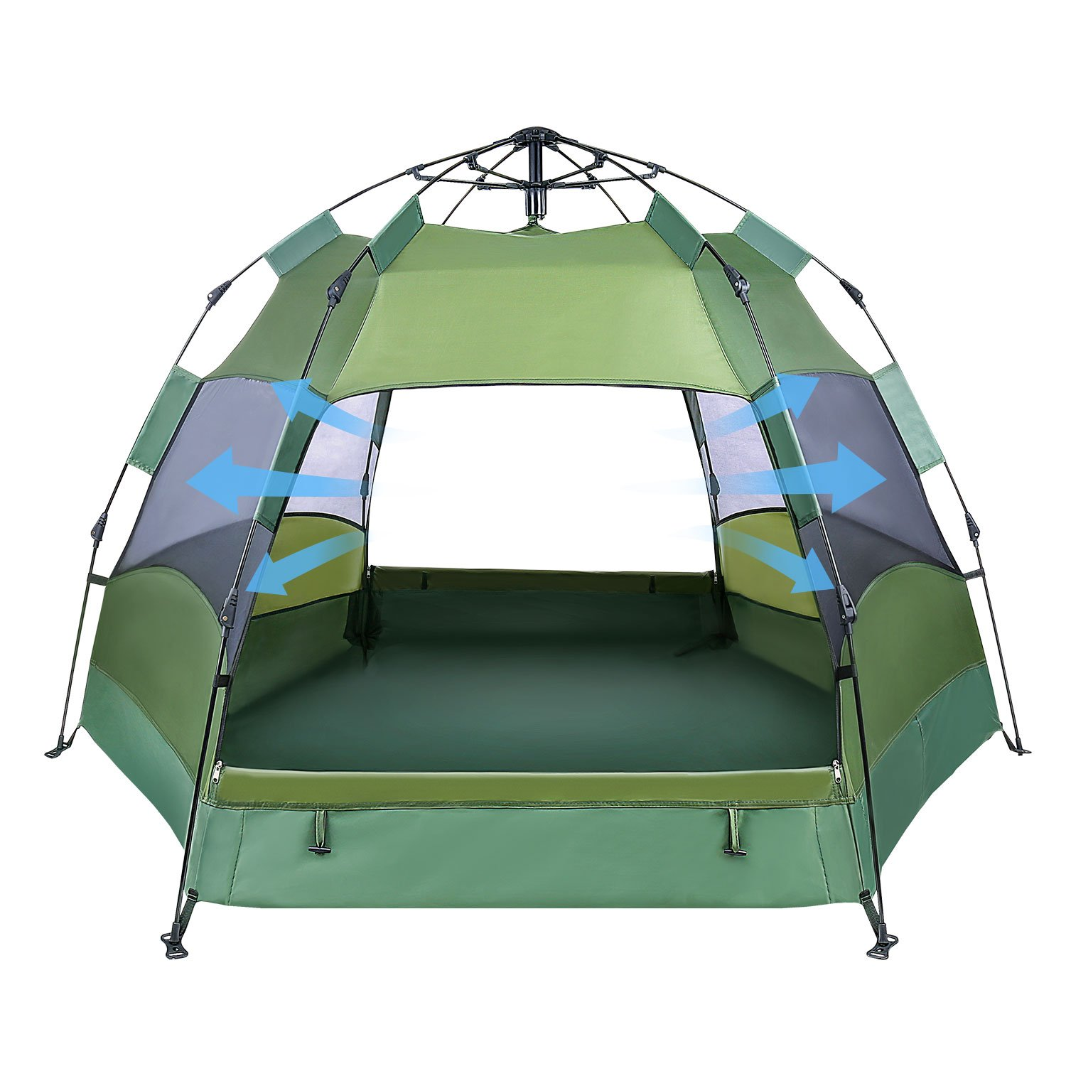 OlarHike 2-4 Person Tent for Camping