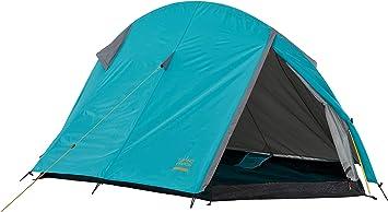 Grand Canyon Cardova 1 – Tienda de campaña tipo túnel para 1 – 2 personas, ultraligera, impermeable, tamaño pequeño, tienda para senderismo, camping, ...