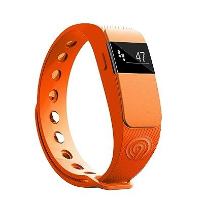 'NINETEC SmartFit Fitness Tracker Bluetooth 4.0Sport Bracelet Podomètre activité Bracelet Bracelet Fitness Montre de sport Avec sommeil Analyse Calories Analyse SMS appels