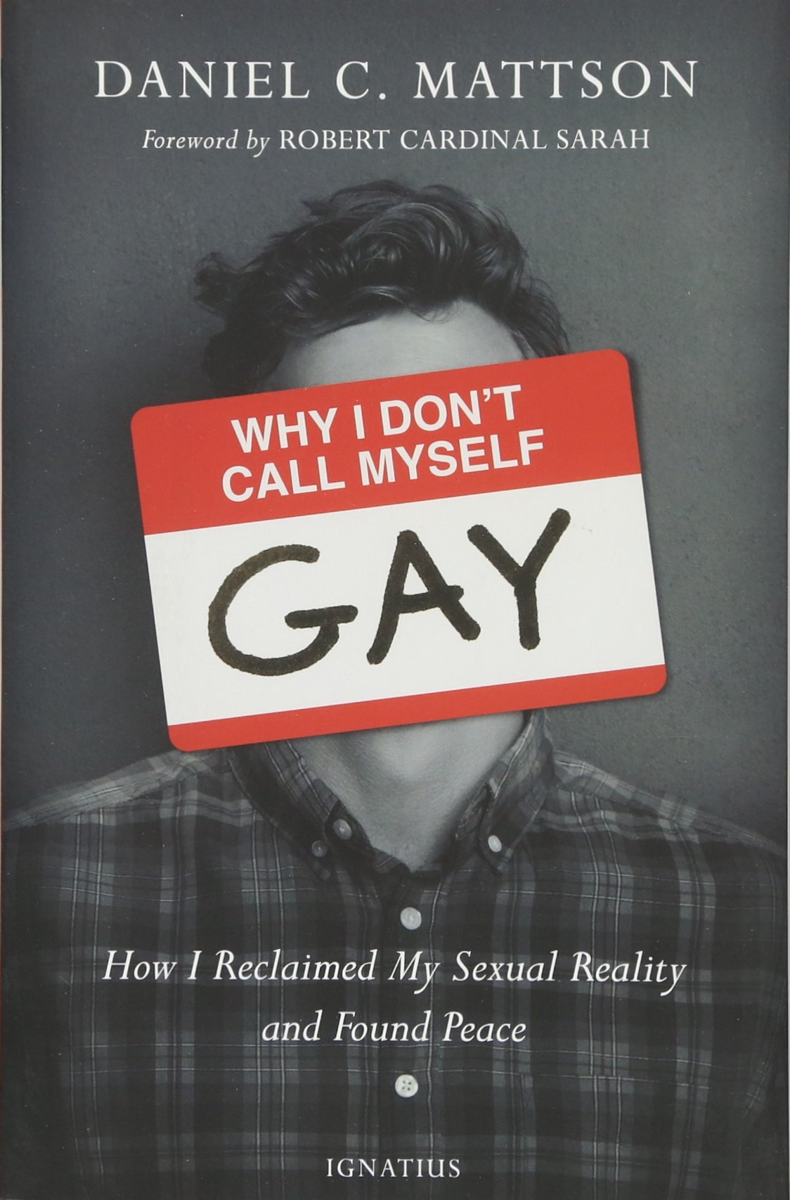 Why I Dont Call Myself Gay: How I Reclaimed My Sexual Reality and Found Peace: Amazon.es: Daniel Mattson: Libros en idiomas extranjeros