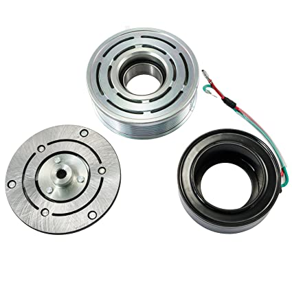 Amazon.com: A/C AC Compressor Clutch Repair Kit - Clutch Hub Pulley Coil Bearing for Honda Civic 1.8L 2006 2007 2008 2009 2010 2011: Automotive
